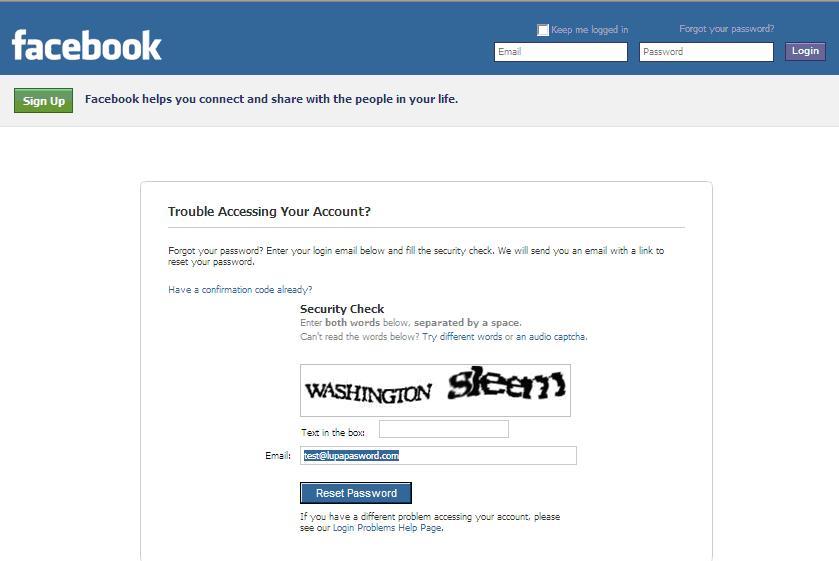 Sistem Keamanan Baru Login Facebook